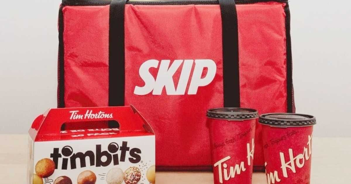 Tim Hortons Is Now Officially Available For Delivery In Montreal In 2020 Tim Hortons Coffee And Donuts Montreal