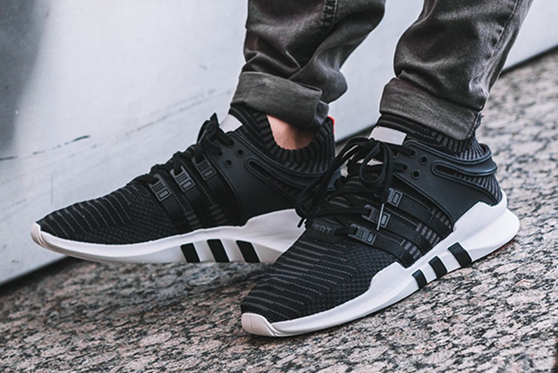 newest d54df d3a83 adidas EQT Support ADV PK (Core Black/Turbo) - Sneaker ...