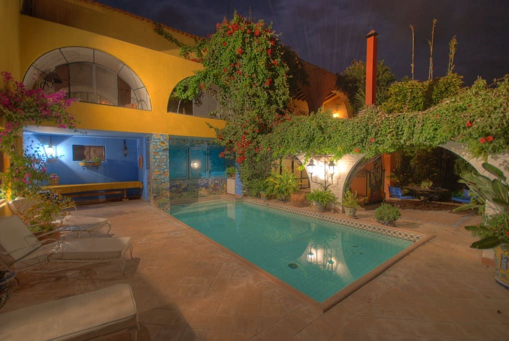 Check out this awesome listing on Airbnb: Authentic Mexican Villa with Pool and Staff - Villas for Rent in San Miguel de Allende