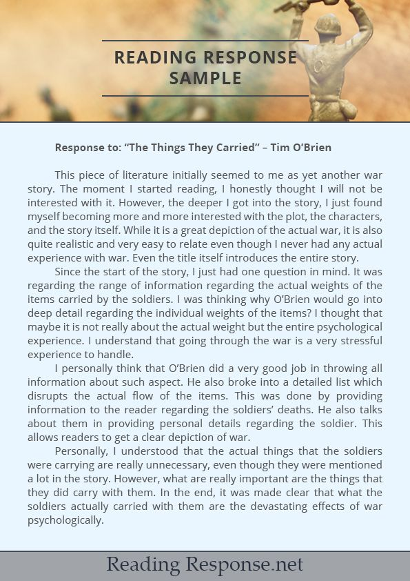 the things they carried short story