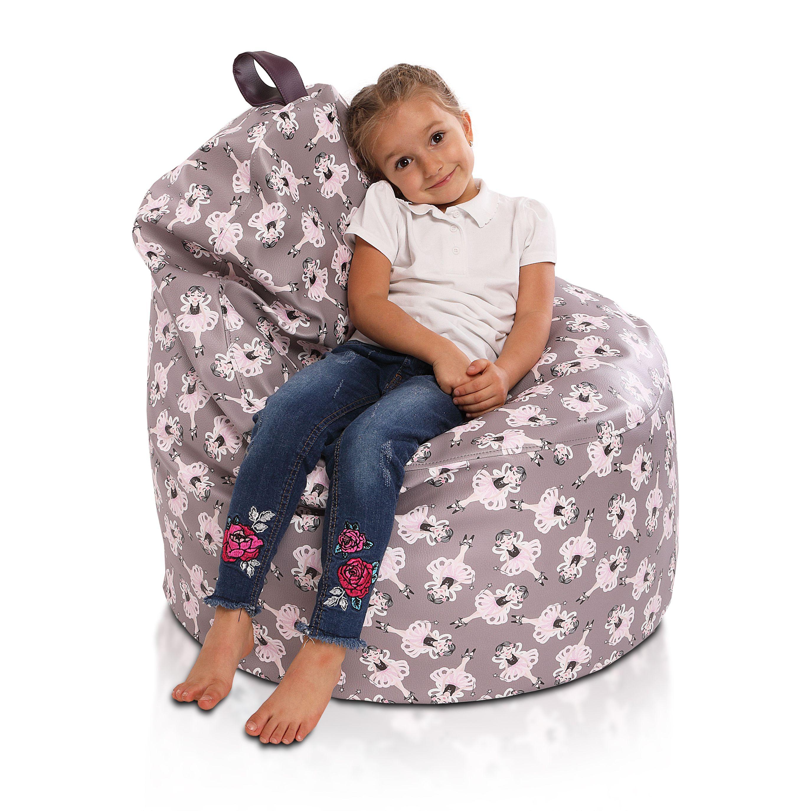 Fotel Pufa Yoko Modern Ekoskora Fotel Dla Dzieci Dzieci