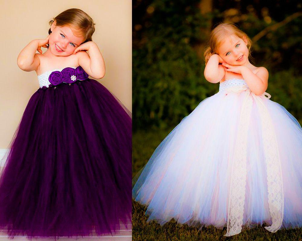 Nuevos en fotos vestidos de niñas para una boda de gala son un