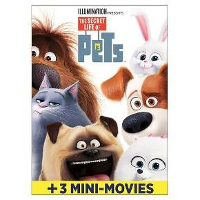 The Secret Life Of Pets Dvd Secret Life Of Pets Pets Movie Secret Life
