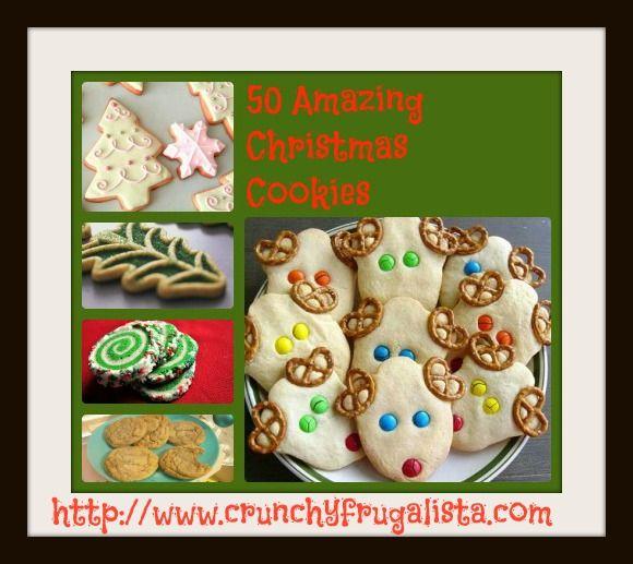 Christmas Cookies, Christmas Cookies, Christmas Cookies 50 Amazing Christmas Recipes Cookies Galore!