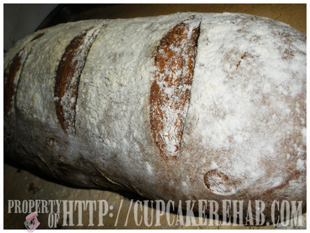 Cupcake Rehab - classic French levain bread. Best bread ever.