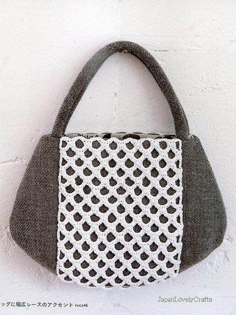 Lovely Crochet Panel Japanese Pattern Project Inspo Pinterest