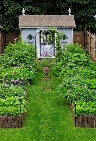 All The Garden Sheds Of Your Wildest, Quaintest Dreams Gemüse - bauerngarten anlegen welche pflanzen