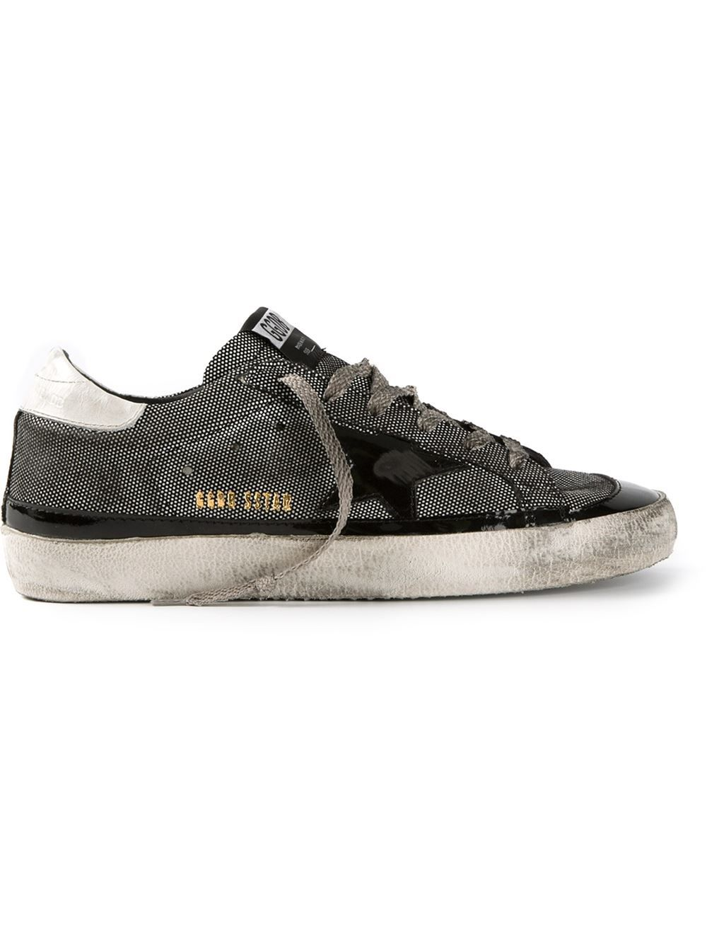6a86ec286318 Golden Goose Deluxe Brand Distressed Trainers - Pozzilei - Farfetch ...