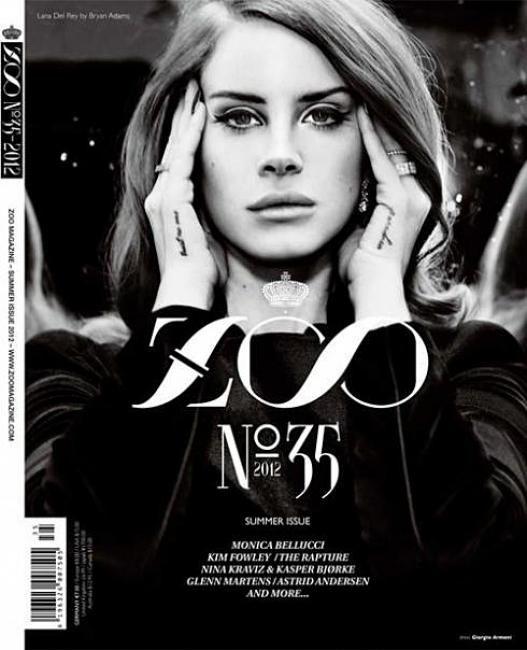 #houseofmagazines   Lana del Rey covers ZOO Magazine