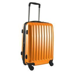 Brookstone Orange Dash 4-Wheeled Expandable Carry-On