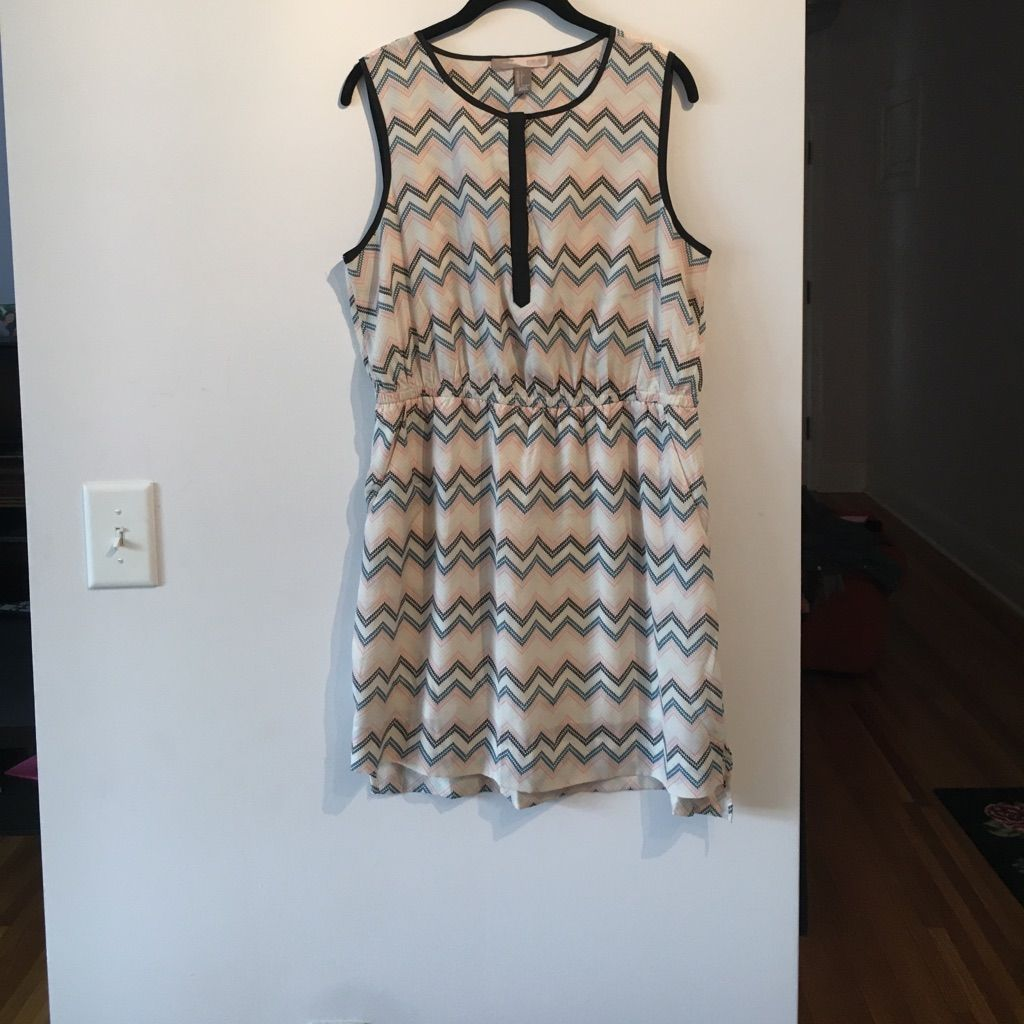 Nwot F21 Dress. Slight High Low, And Deep Pockets