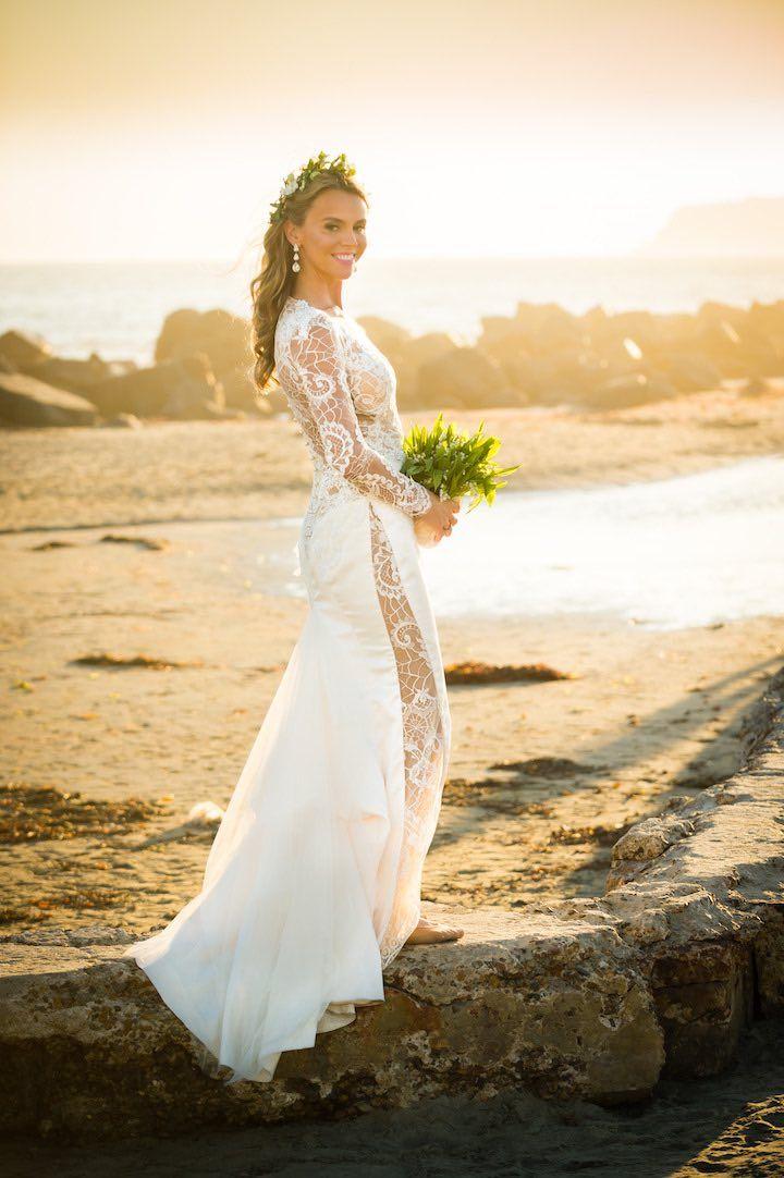 Sunny California Wedding with Royal Vibes | Vestidos de novia ...