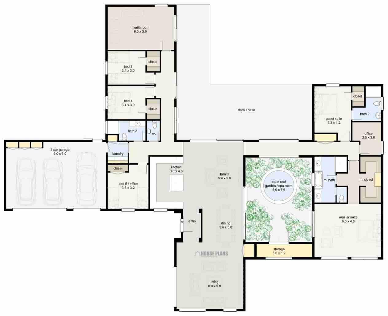 5 Bedroom Bungalow House Plans House Plans New House Plans