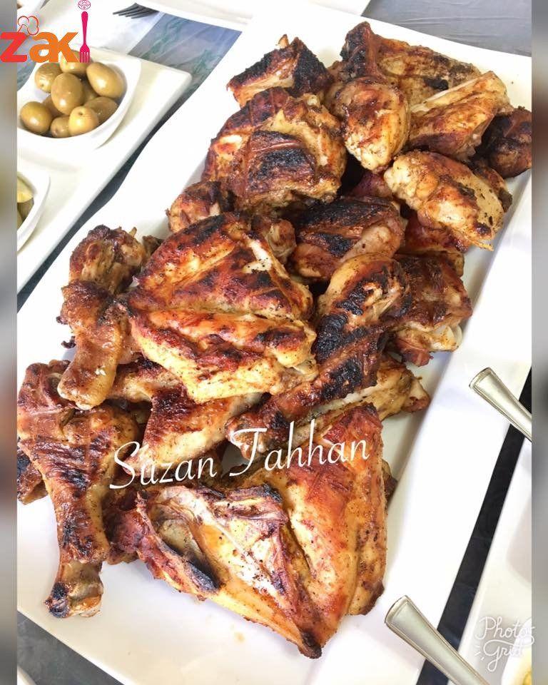 كيف اشوي الدجاج على الفحم أطباق دجاج وطيور أطباق رئيسية كيف اشوي الدجاج على الفحم عزيزتي المتابعة بصمت لتصلك مزيد من الوصفات ضعي ل Cooking Cookery Main Dishes