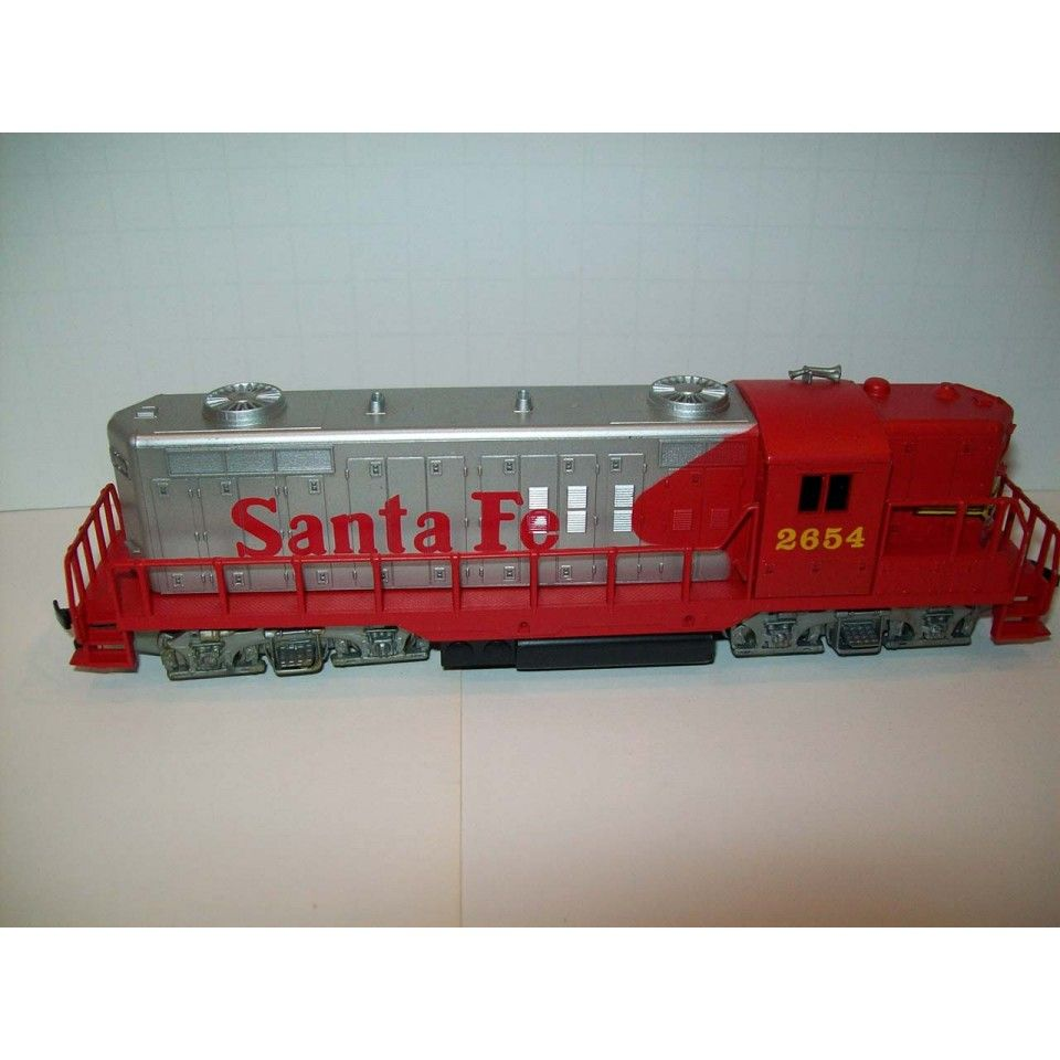 Ahm Santa Fe Diesel Locomotive Made In Yugoslavia Ho Scale 2654 Train Sets Diesel Locomotive Ho Scale