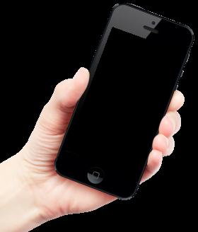 Hand Holding Smartphone Iphone Smartphone Smartphone Art