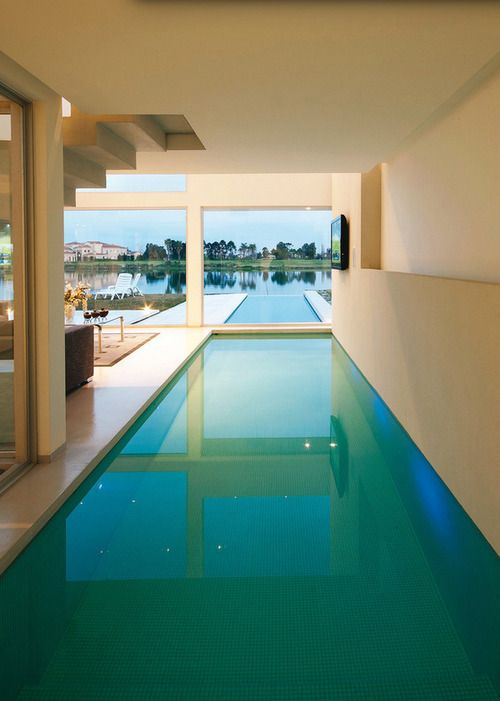 Amazing Swimming Pools Half Indoor Outdoor