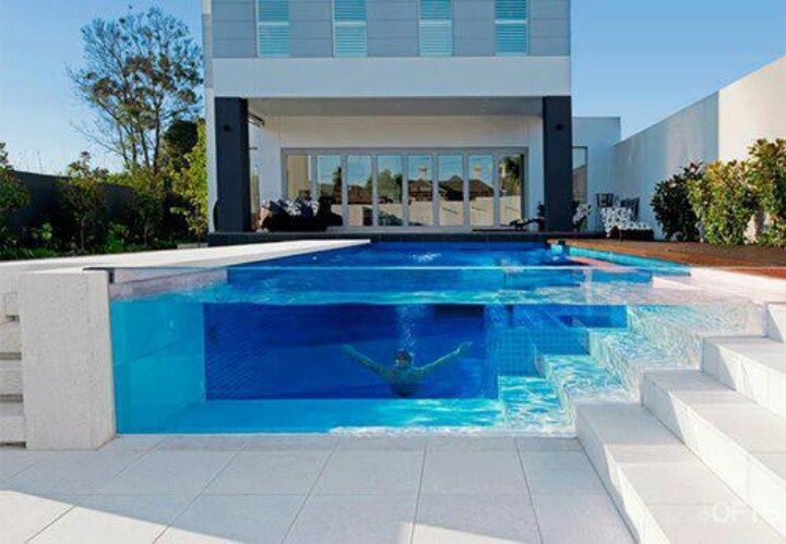 house cool houses with pools - Cool House Pools