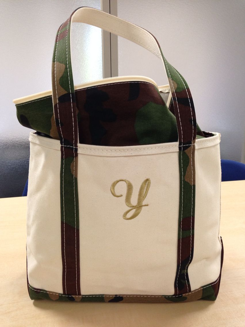 Ll Bean Camouflage Tote Medium For The Home Pinterest
