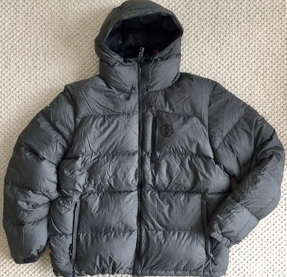 Polo Sport Ralph Lauren 650 Down Hooded Puffer Jacket Coat Grey 2xl Xxl 295 Polo Sport Ralph Lauren Winter Jackets Coats Jackets [ 964 x 1000 Pixel ]