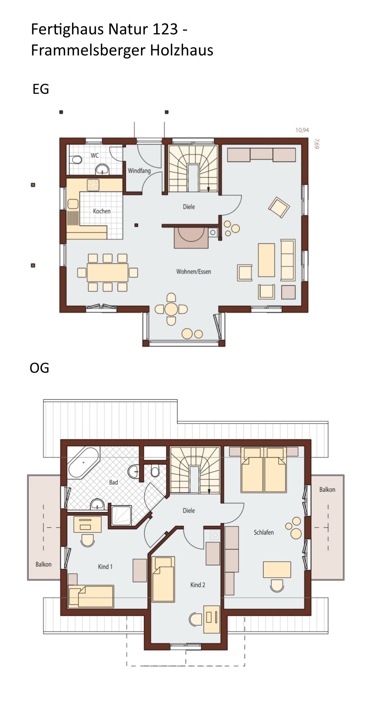 Schwedenhaus Grundriss Mit Satteldach Architektur Giebel Anbau 4