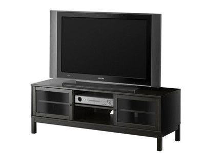 Ikea Linnarp Tv Stand Black