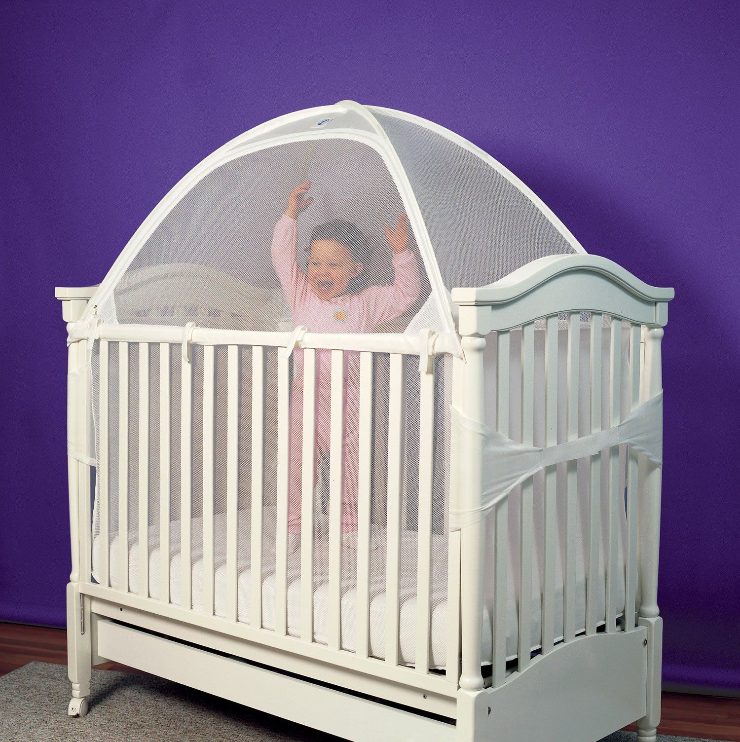 crib tent needed for packNplay to keep cats out and babies in! & tots in mind crib tent - Google Search | Maggie and Rosieu0027s Room ...