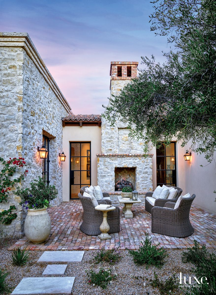 Photo of Mediterranean Charm Infuses A Bright Arizona Residence | Luxe Interiors + Design