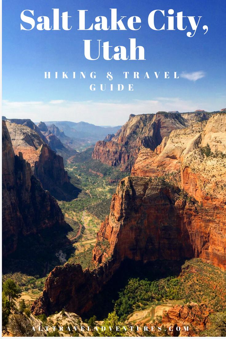 Utah Salt Lake City Travel Hiking Trip National Parks