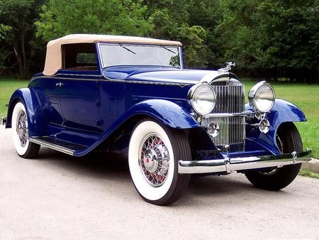 1933-Packard Eight Convertible Coupe – (Packard Motor Car Company Detroit, Michi…