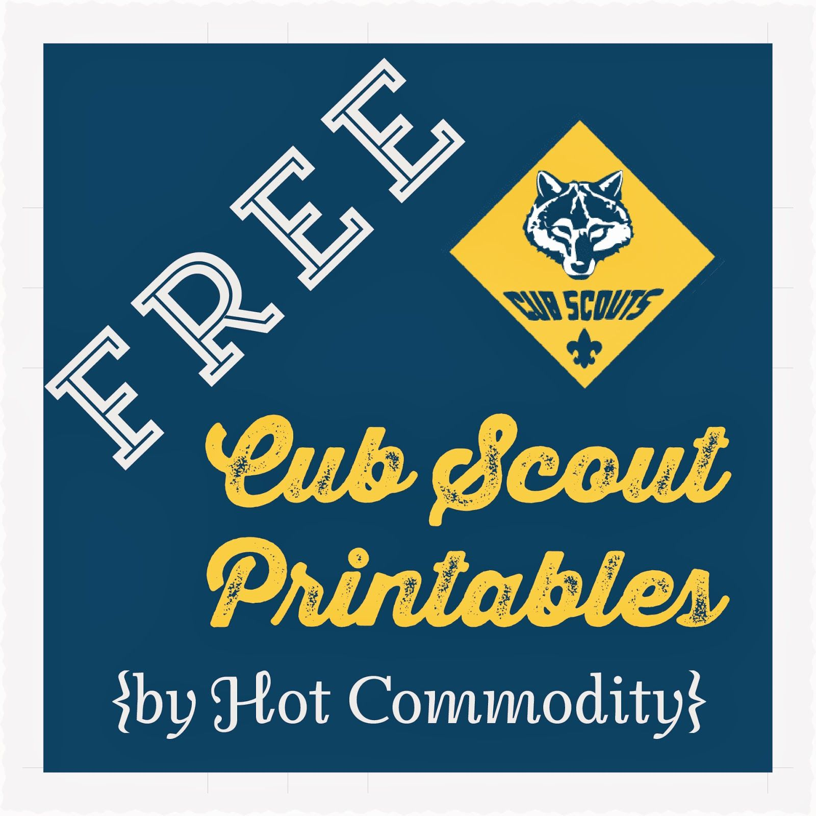 photo about Cub Scout Printable called Pin upon Cub scouts