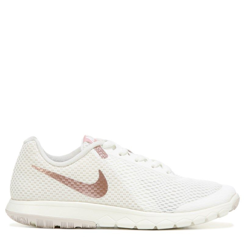 78a13a5f1ef1 Nike Women s Flex Experience RN 6 Running Shoes (Sail Rose Gold)