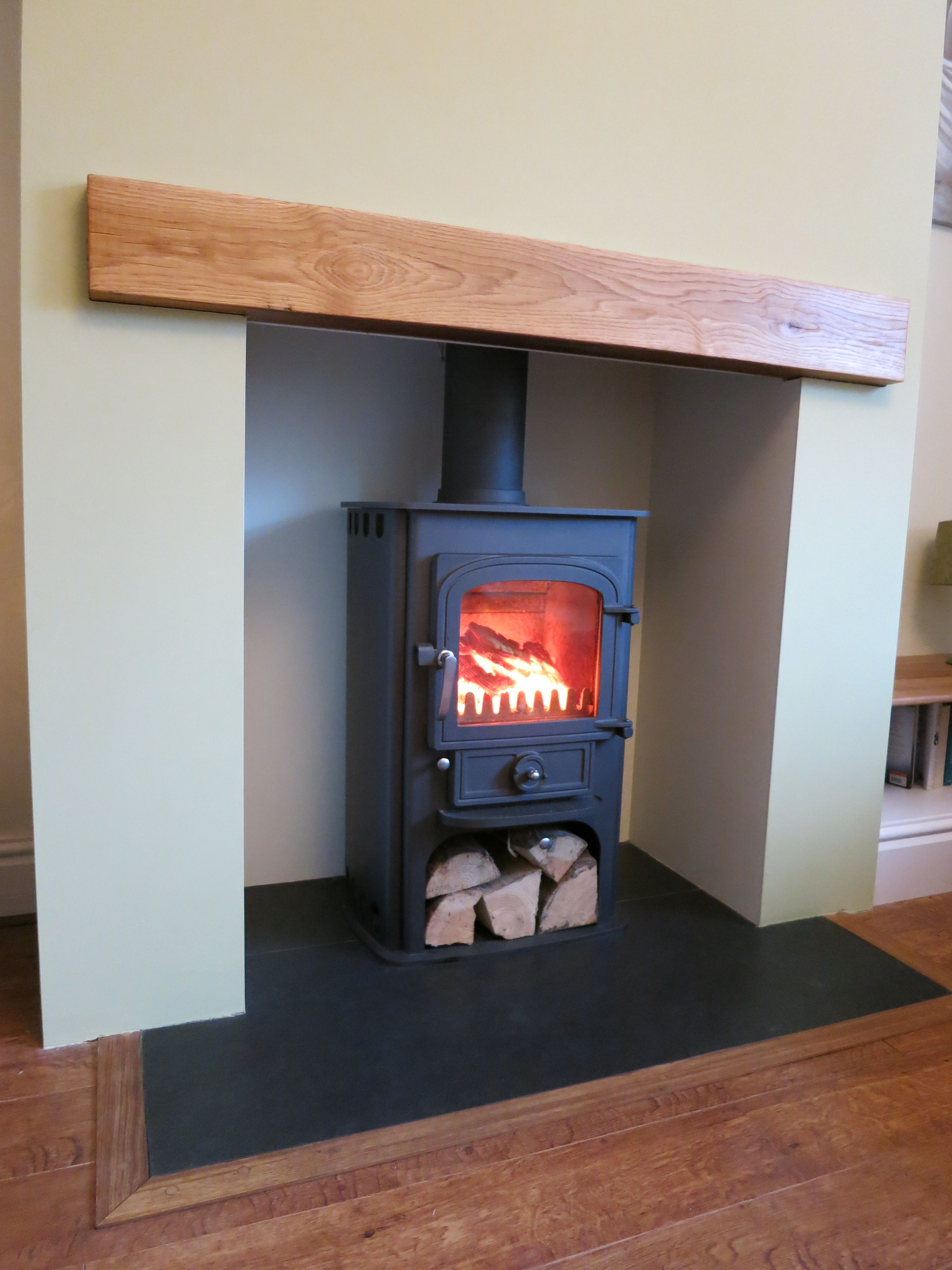 Wood Burning Multi Fuel Stove Fireplace Fitter