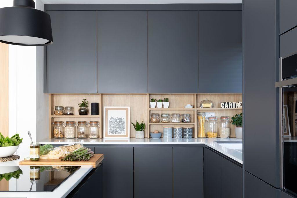 48 Stunning Dark Grey Kitchen Design Ideas Kitchen 48 Stunning