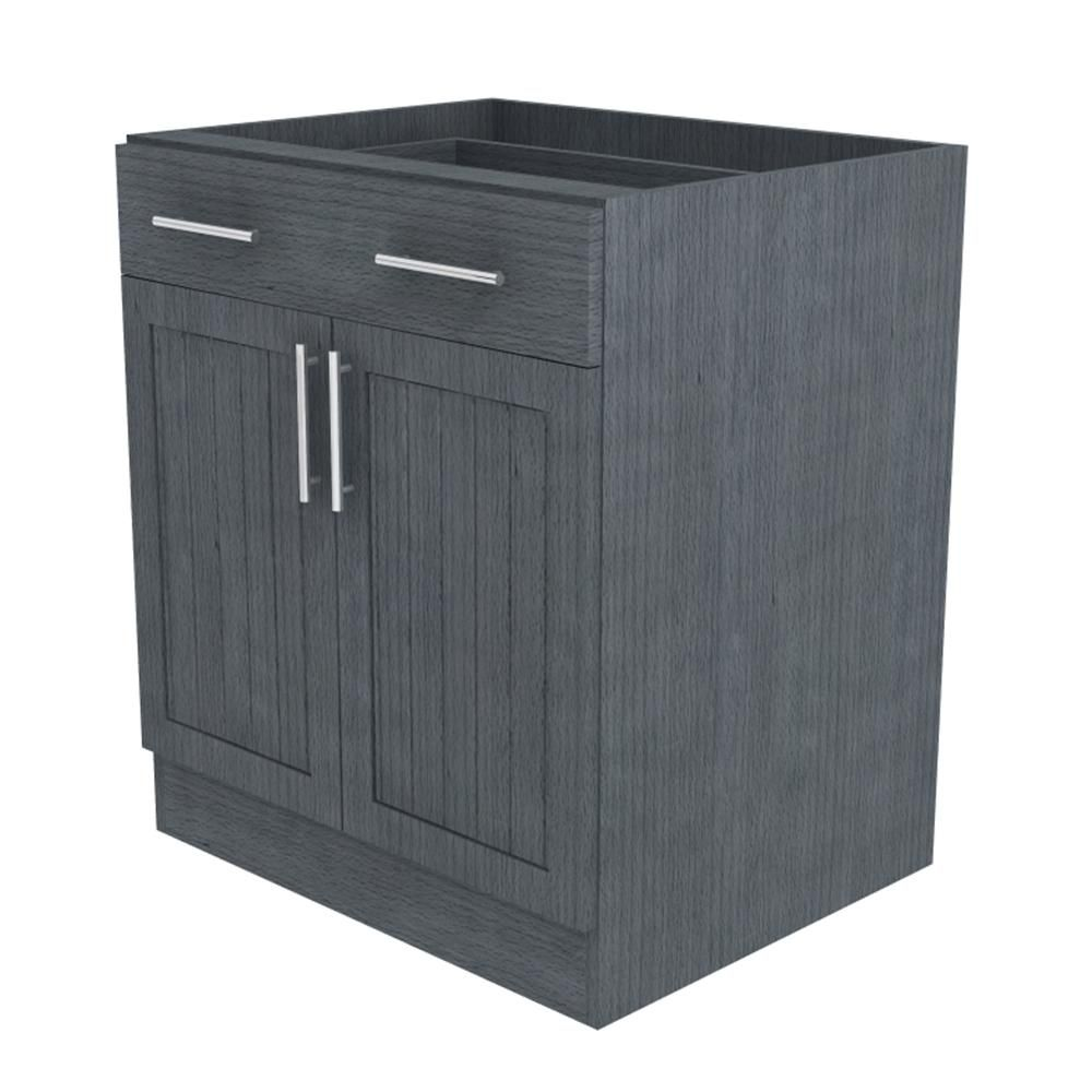 Naples Island Outdoor Base Cabinet With 2 Doors And 1 Drawer