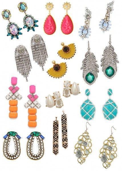 12 dazzling statement earrings