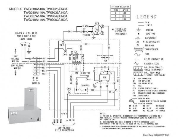 trane hvac wiring diagrams model twp036c100a1 wiring diagram ebook