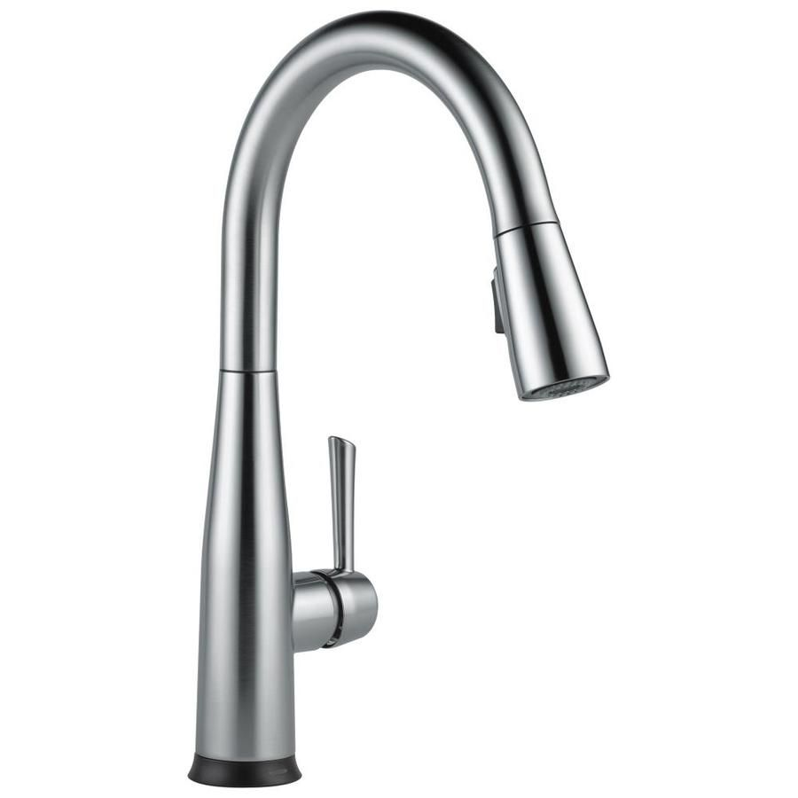 Delta Essa Touch2o Arctic Stainless 1 Handle Deck Mount Pull Down