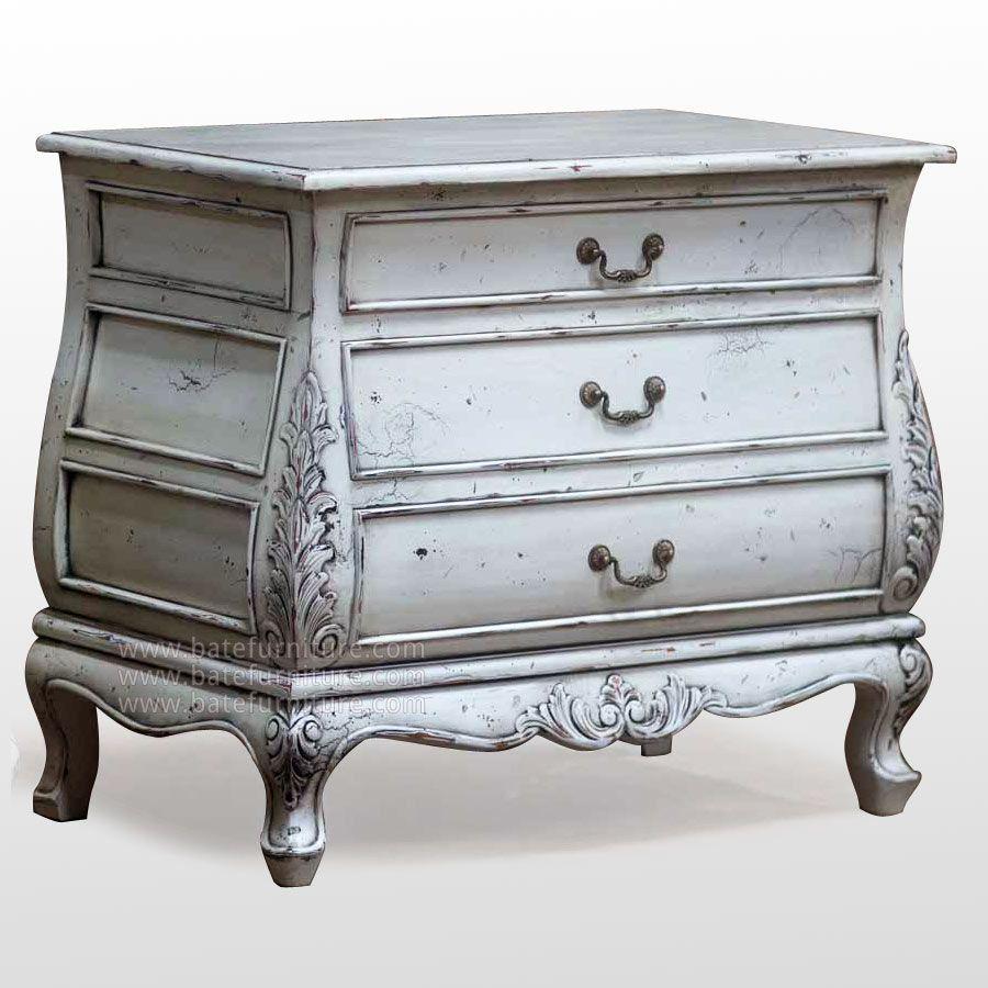 Muebles Decapados En Blanco Manualidades Varias Pinterest  # Muebles Efecto Decapado