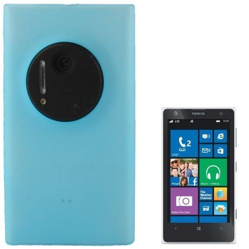 Translucent Frosted Plastic Coque Cover Case pour Nokia Lumia 1020 (Baby Blue)