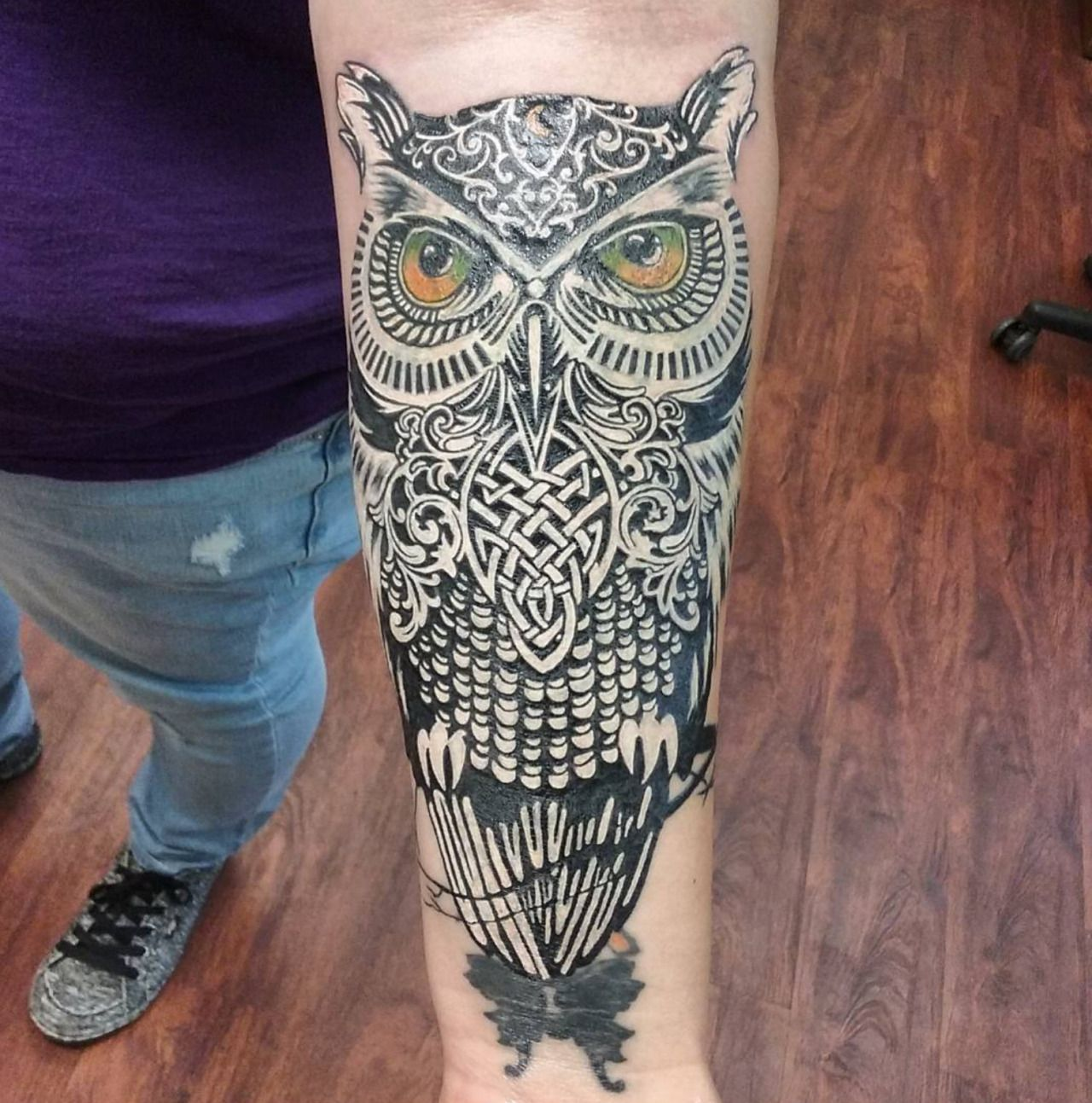 Great cover up tattoo ideas this cover up piece was done by leo fieschi at the art club in