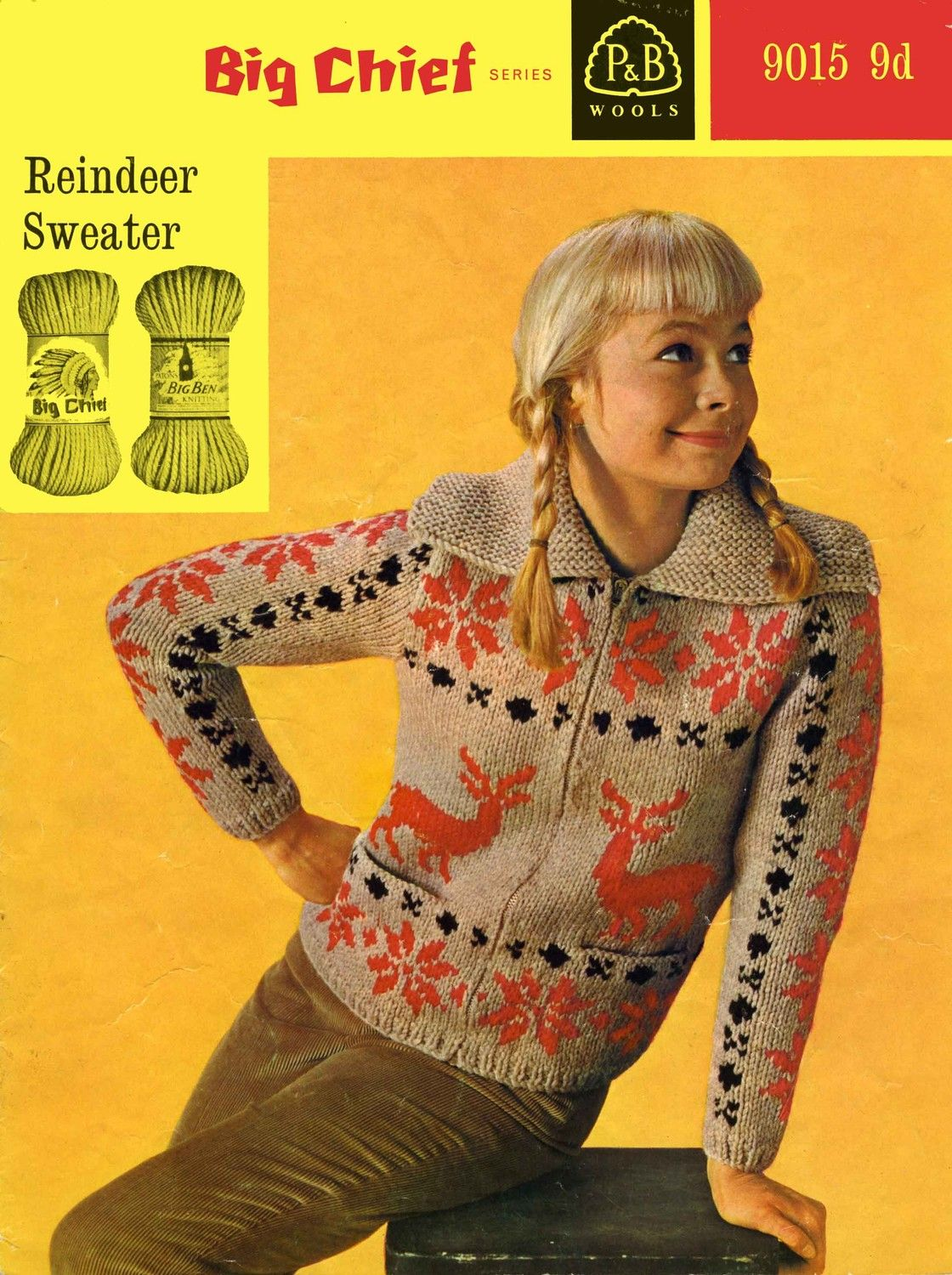 P 9015 Knitting Pattern. Maddie asked for an ugly Xmas sweater ...