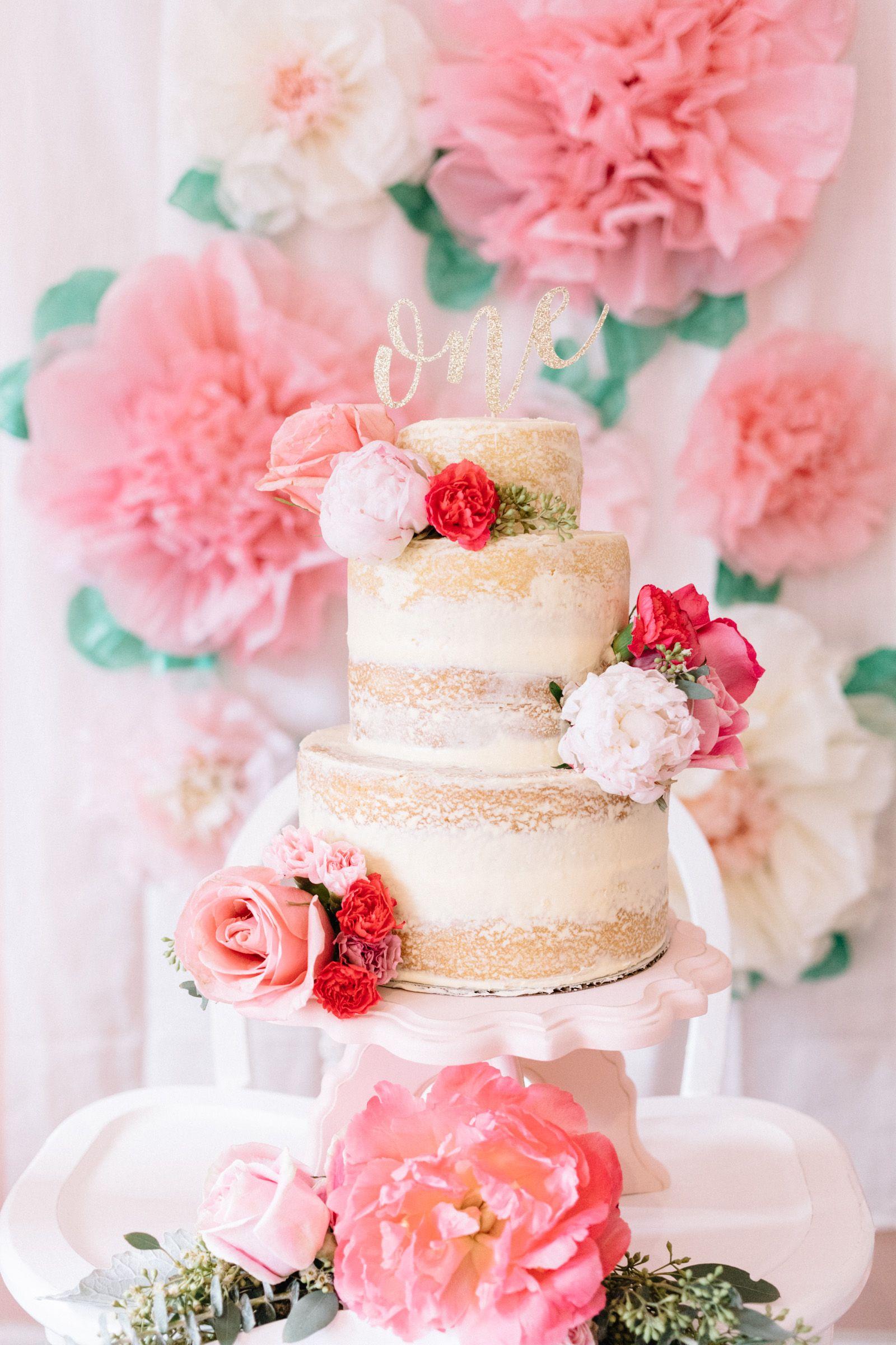 Flower Theme Birthday Party Parties Pinterest Themed Birthday