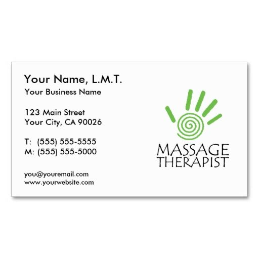 Massage therapy business cards i love this design it is massage therapy business cards i love this design it is available for customization or colourmoves