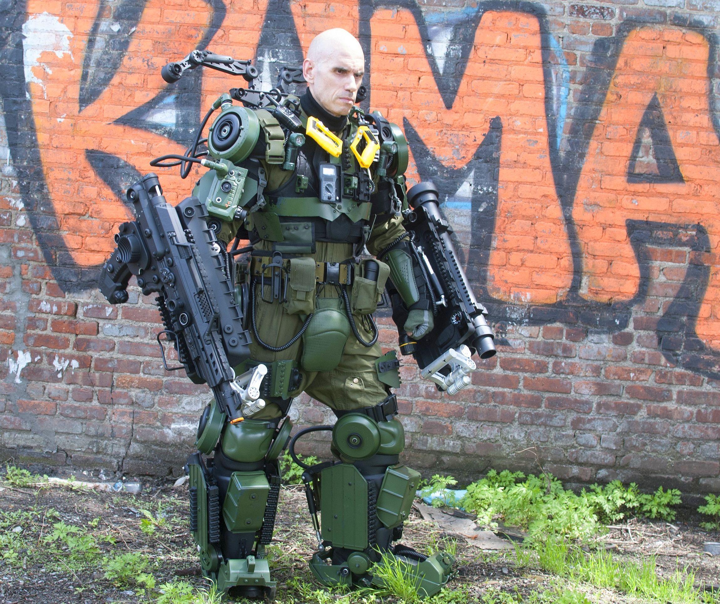картинки военного экзоскелета