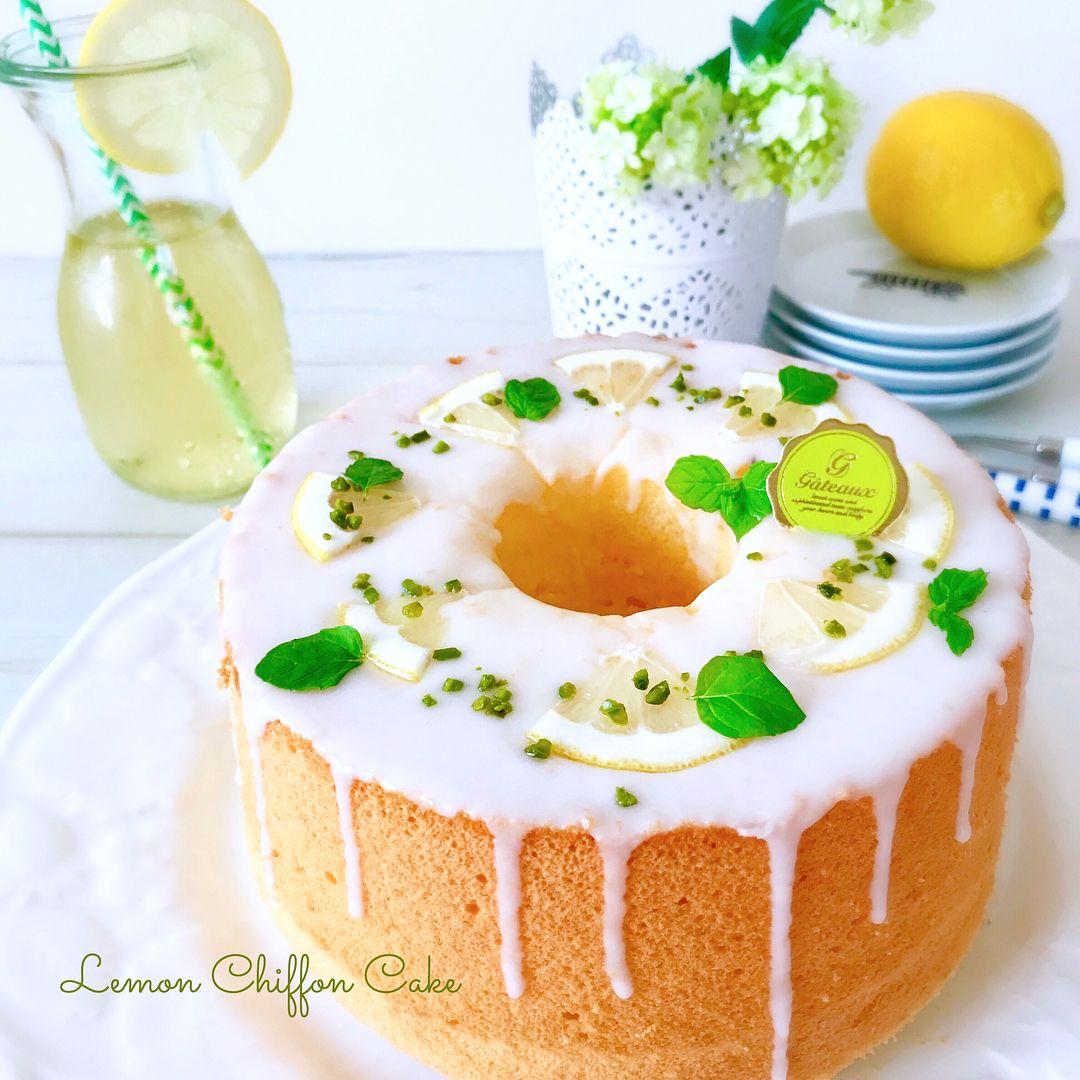 ケーキ レシピ シフォン