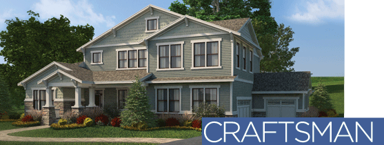 Craftsman Style House The Designed Exterior Vinyl Siding Dream Home Architectural Styles