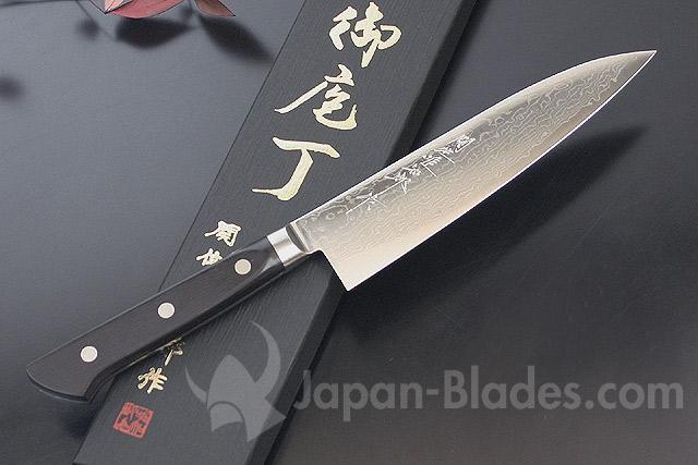HU-G150 Hattori 63-layered Damascus Gyuto 150mm   Chef knife ...