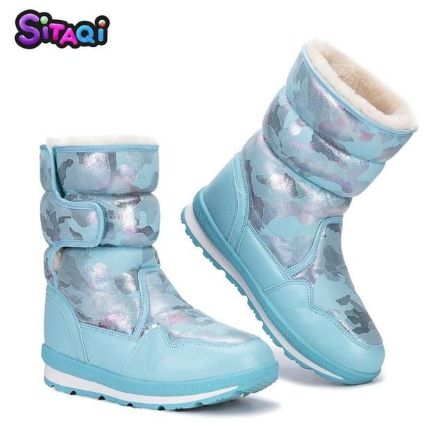 db3483ade13d Girl s Children s Snow Boots   SZ 1-13.5   Winter   9 Designs   !Free  Shipping!