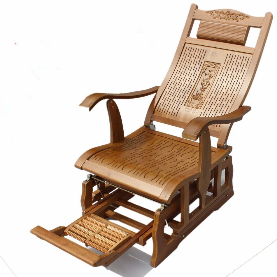 Find More Living Room Chairs Information About Modern Bamboo Rocking Chair Adult Glider Rocker Nat With Images Bamboo Furniture Bamboo Furniture Bedroom Wood Rocking Chair